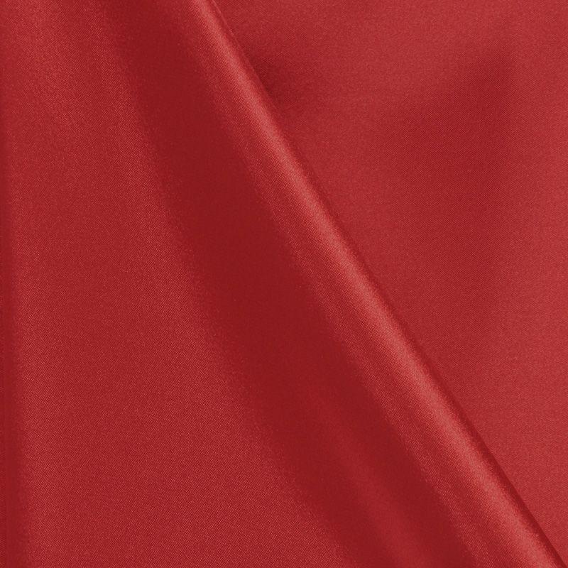 CHA6150 / RED 392 / 100% Polyester Charmeuse [KOREA]