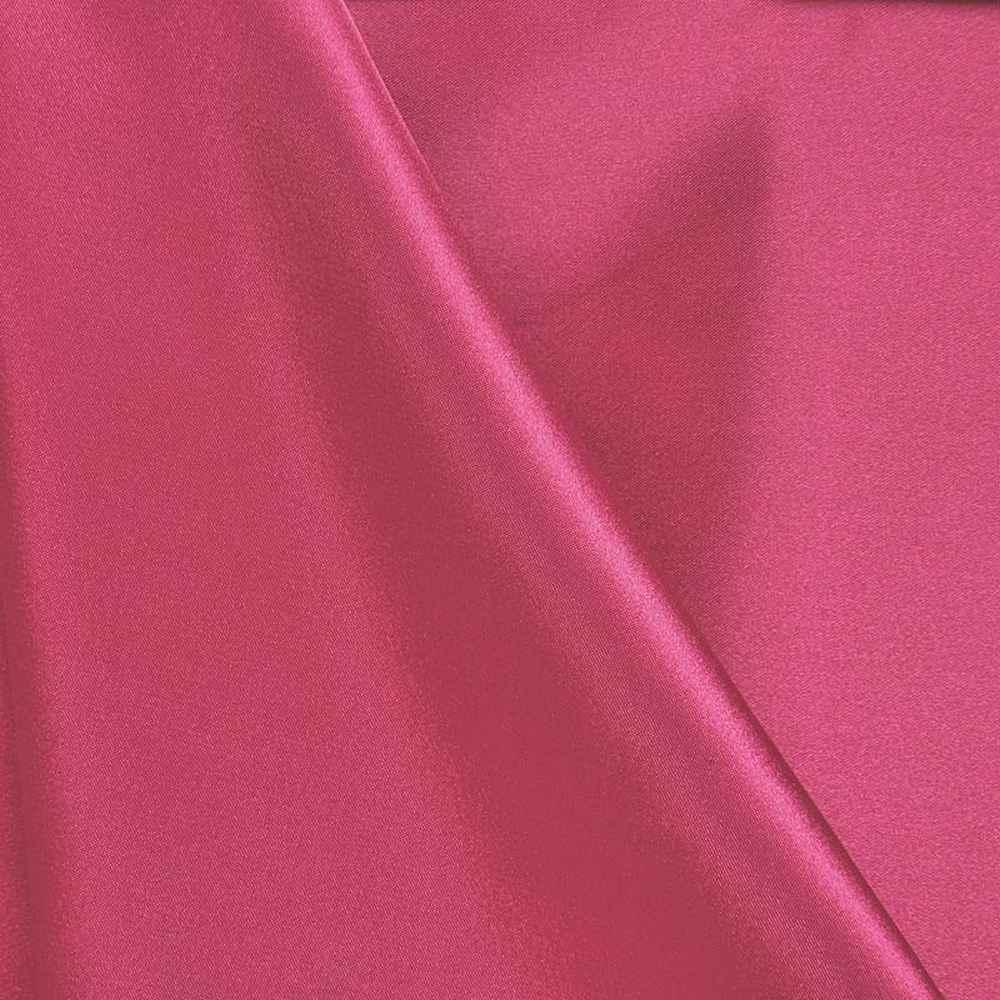 CHA6150 / HOT/PINK 395 / 100% Polyester Charmeuse [KOREA]