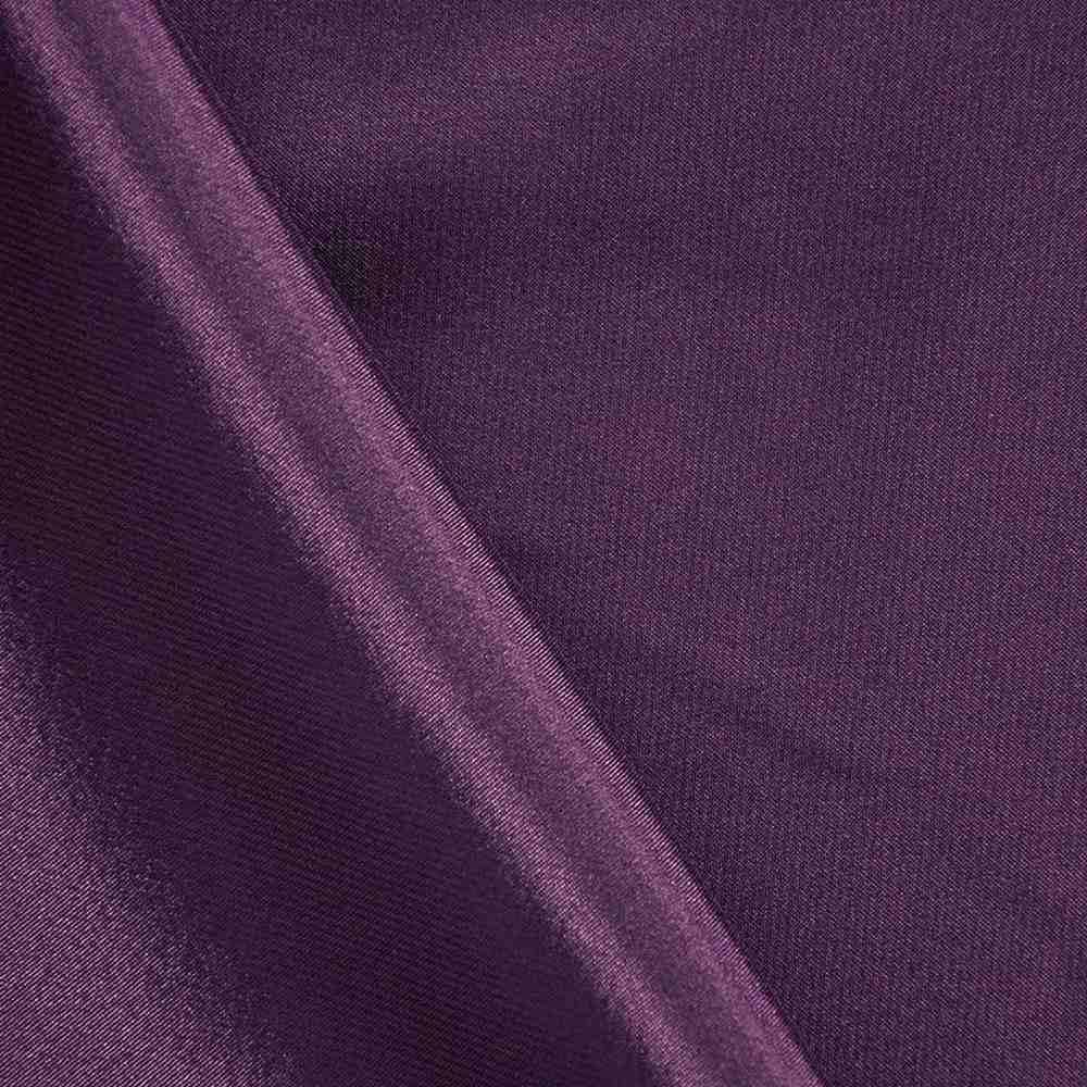 CHA6150 / RAISIN 356 / 100% Polyester Charmeuse [KOREA]