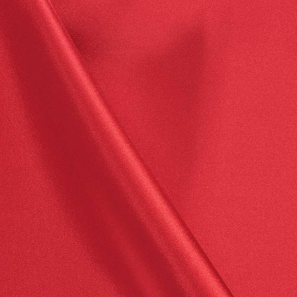 CHA6150 / RED 336 / 100% Polyester Charmeuse [KOREA]