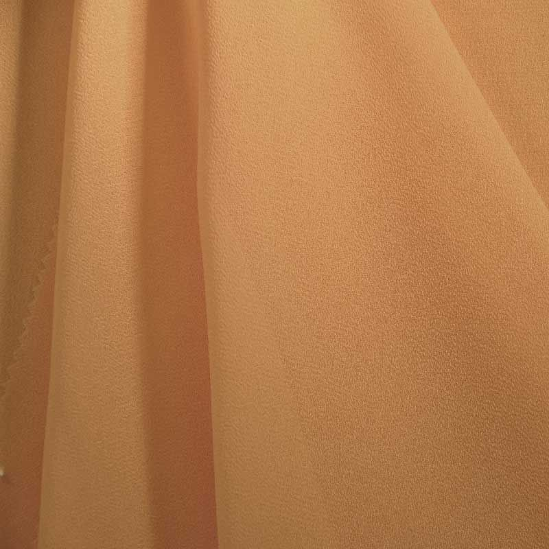 PEBBLE 200 / GOLD 483 / 100% Polyester Pebble Georgette