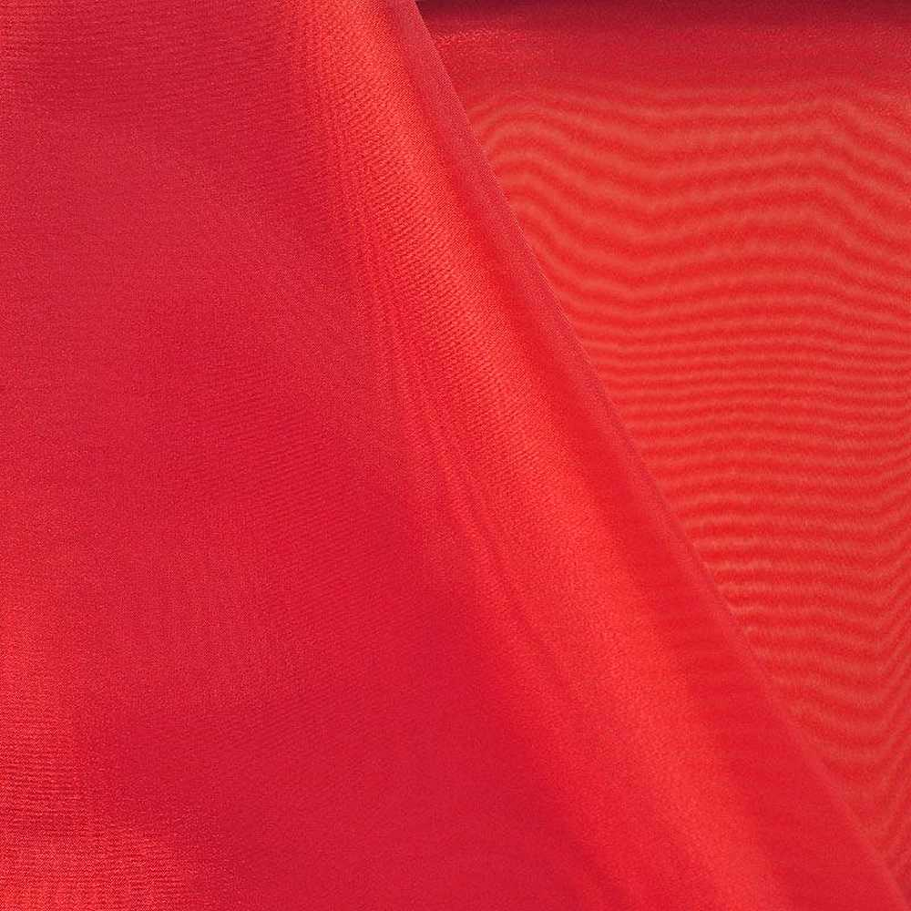 101 CRYSTAL / RED 975 / 100% Polyester Crystal Organdy