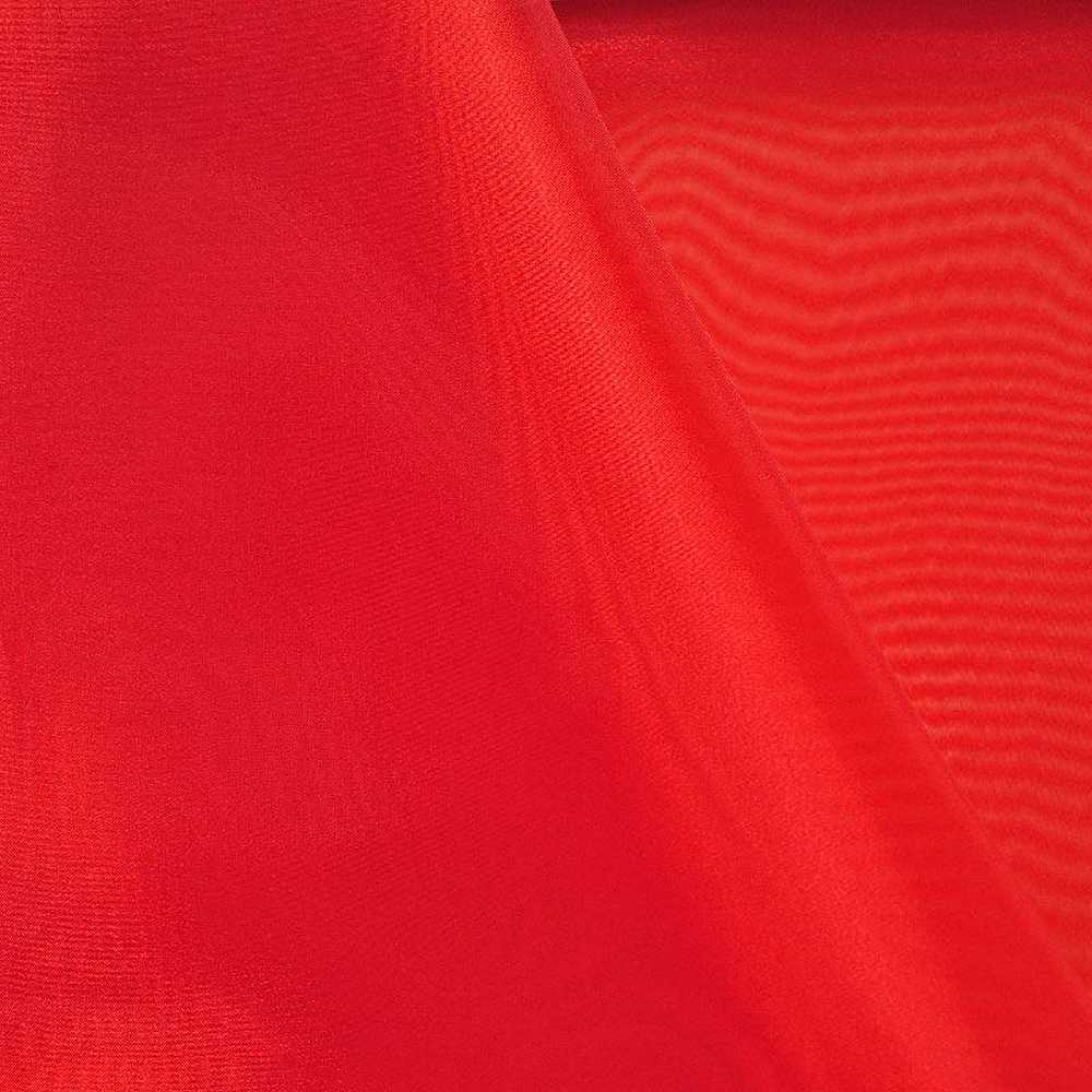 101 CRYSTAL / RED/L 970 / 100% Polyester Crystal Organdy