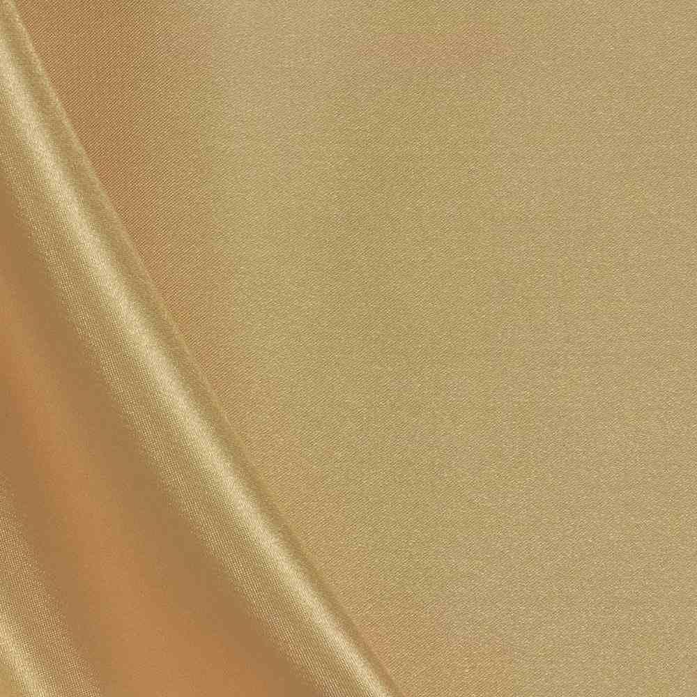 CHA6150 / GOLD 322 / 100% Polyester Charmeuse [KOREA]