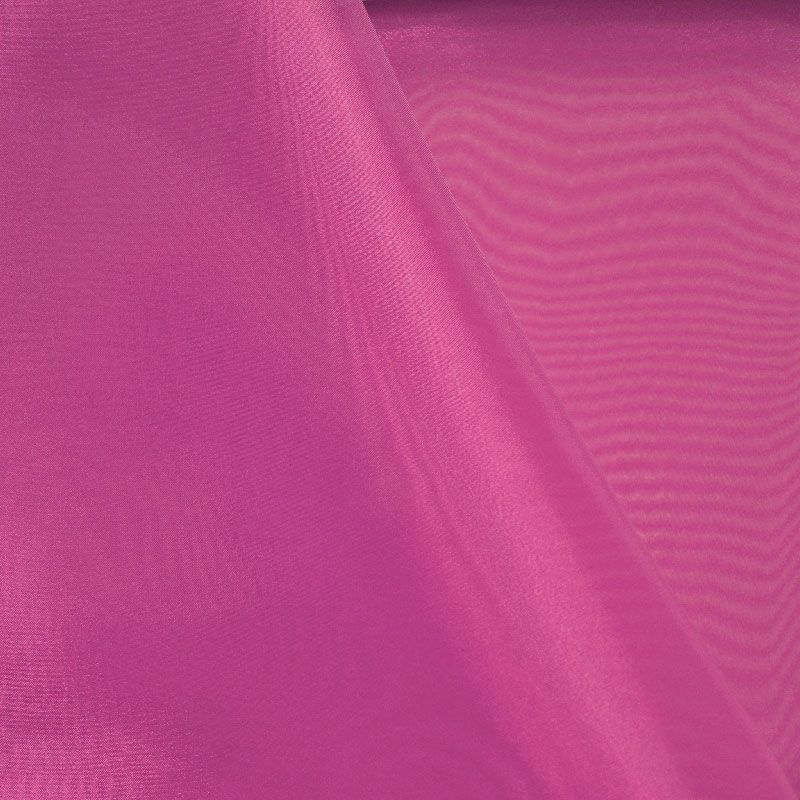 101 CRYSTAL / FUCHSIA/D 916 / 100% Polyester Crystal Organdy