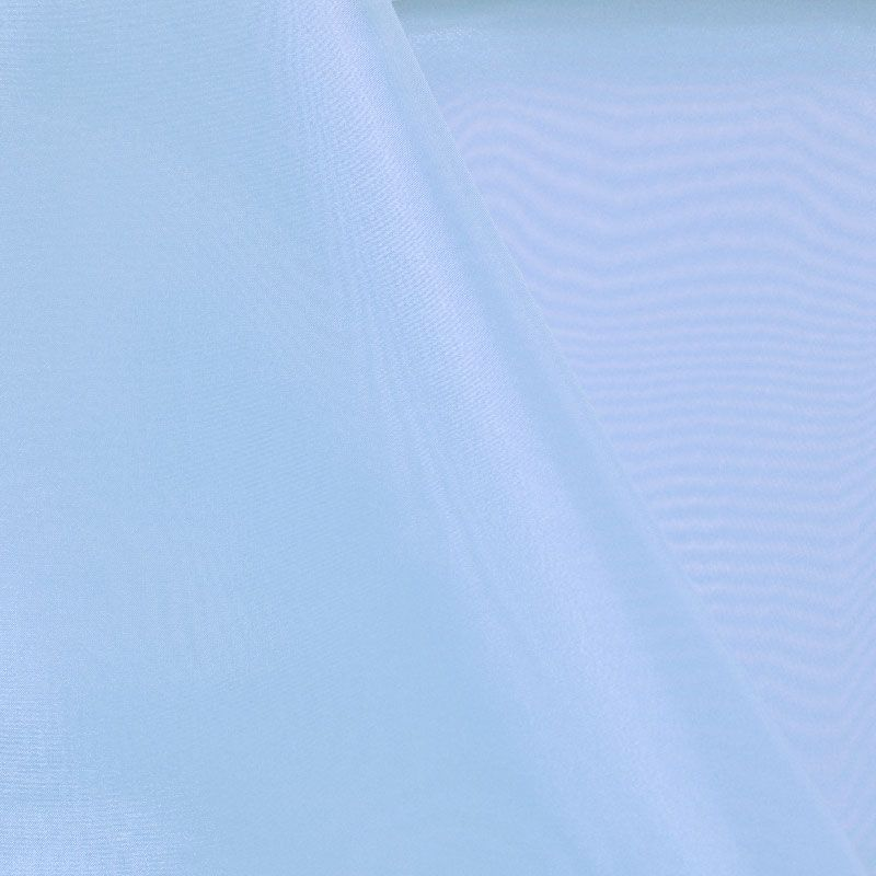 101 CRYSTAL / BLUE/D 208 / 100% Polyester Crystal Organdy