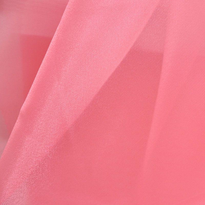 101 CRYSTAL / CORAL 500 / 100% Polyester Crystal Organdy