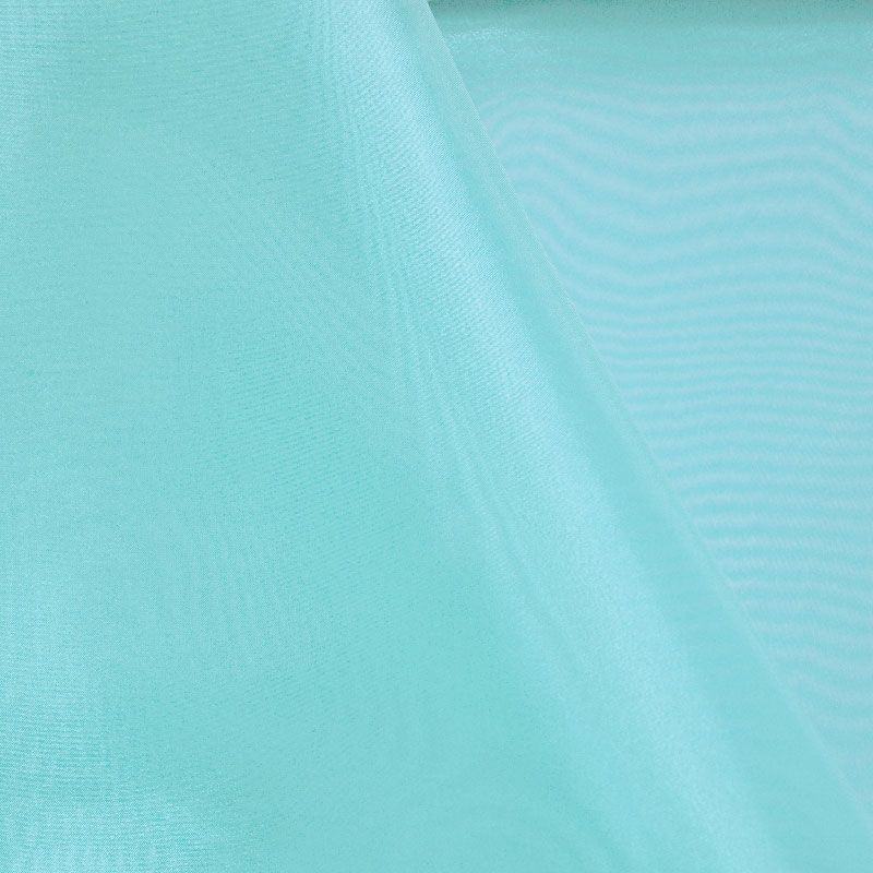 101 CRYSTAL / TURQUOISE/L 940 / 100% Polyester Crystal Organdy