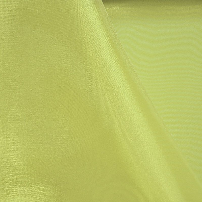 101 CRYSTAL / LIME 993 / 100% Polyester Crystal Organdy