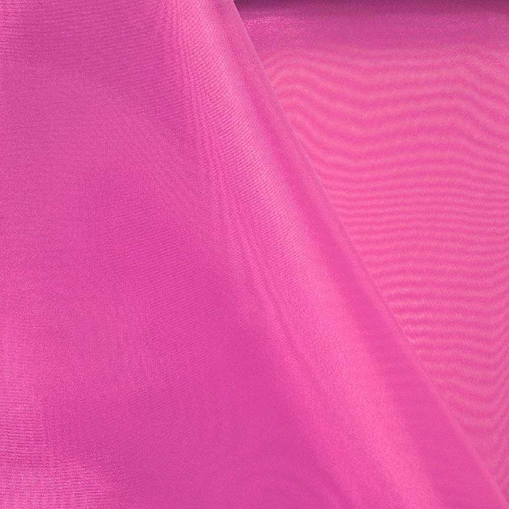 101 CRYSTAL / FUCHSIA 915 / 100% Polyester Crystal Organdy