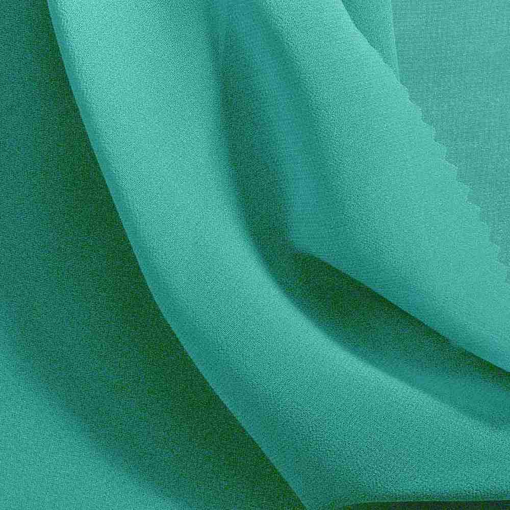HI-CHS 600 / TURQUOISE/L2040 / 100% Poly Hi-Multi Chiffon -Made in Korea