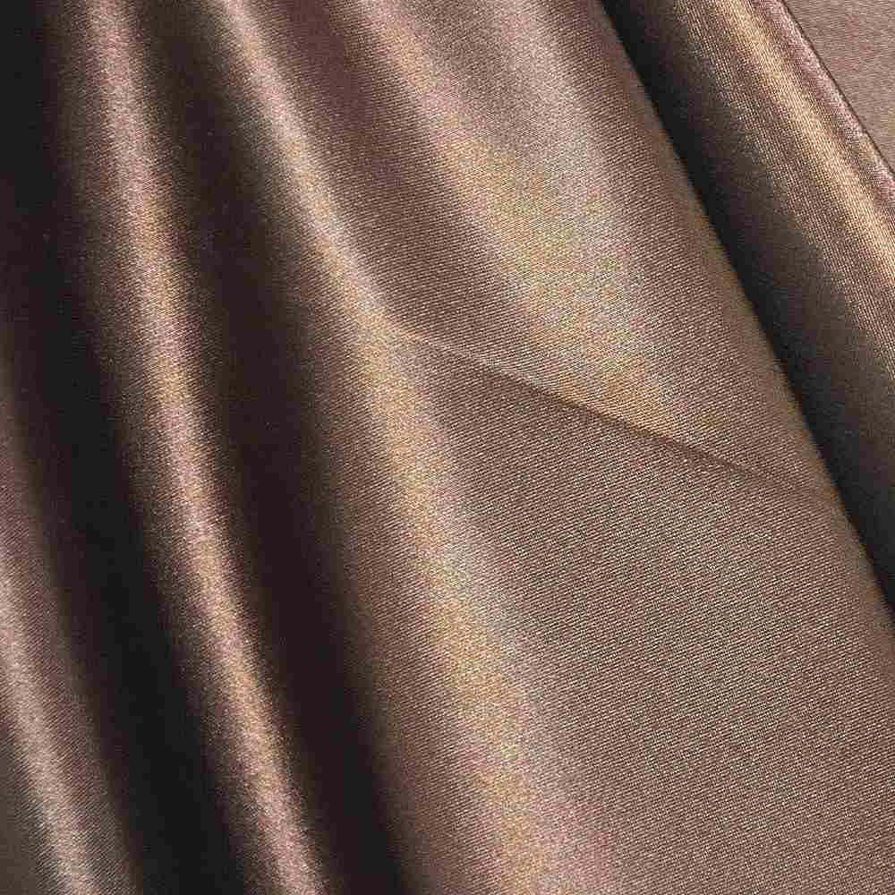 CHA6150 / BROWN 266 / 100% Polyester Charmeuse [KOREA]