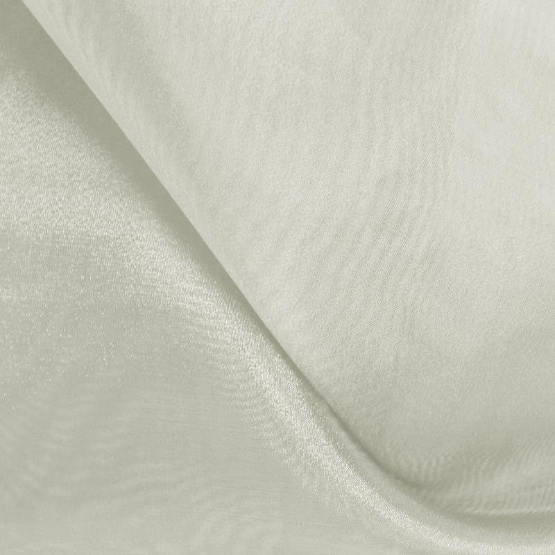 101 CRYSTAL / IVORY 606 / 100% Polyester Crystal Organdy