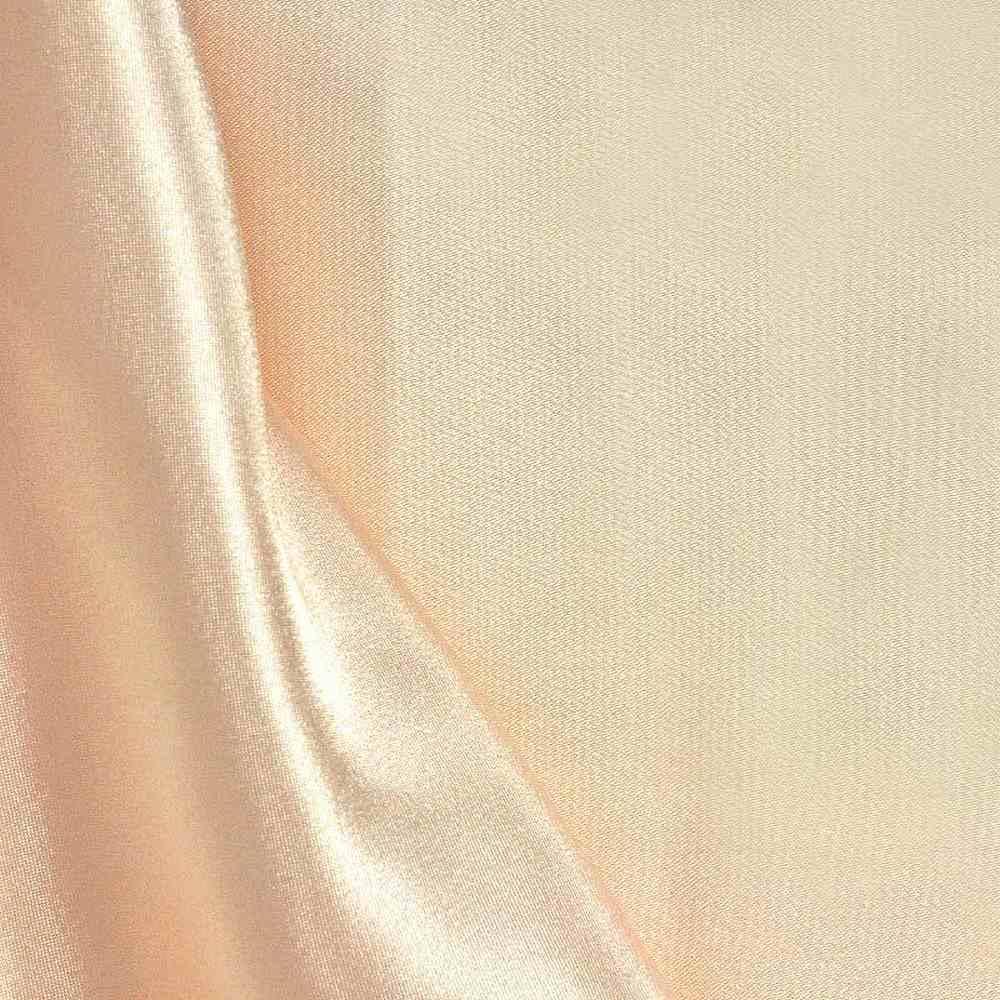 CHA6150 / PEACH/LT 075 / 100% Polyester Charmeuse [KOREA]