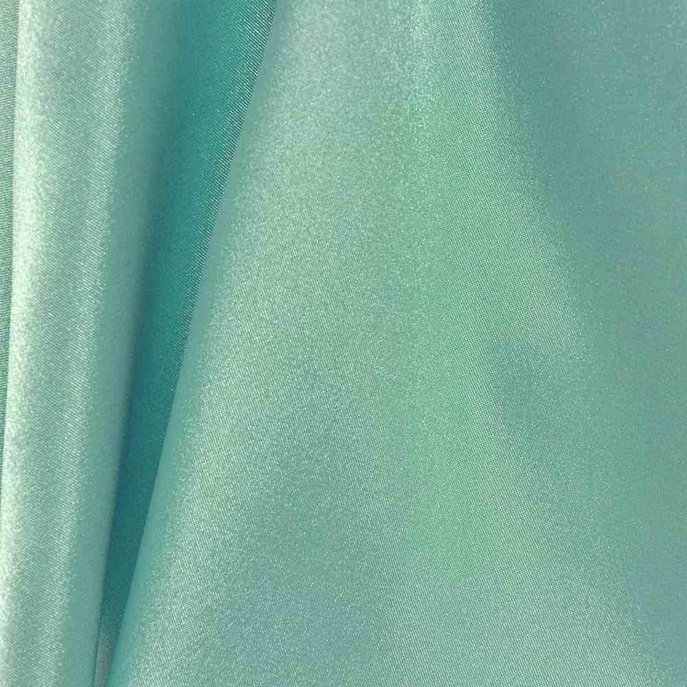 CHA6150 / TEAL/GREEN 645 / 100% Polyester Charmeuse [KOREA]