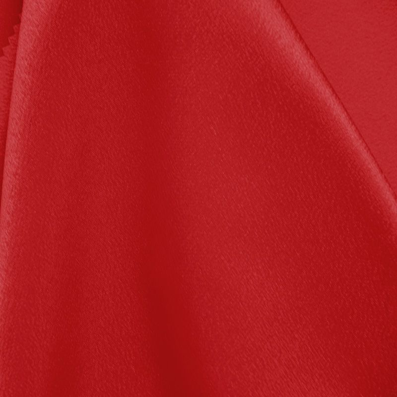 BACK CREPE / RED 192 / 100% Polyester Back Crepe Satin
