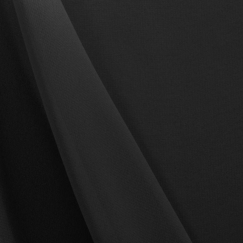 MULTI-HI / BLACK 1115 / 100% Polyester Hi-Multi Chiffon