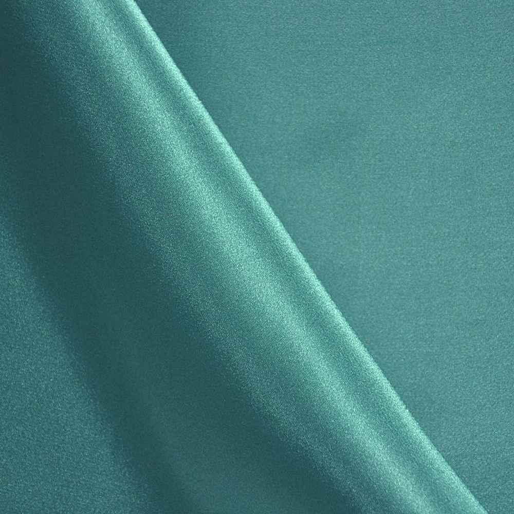 CHA6150 / TEAL 952 / 100% Polyester Charmeuse [KOREA]