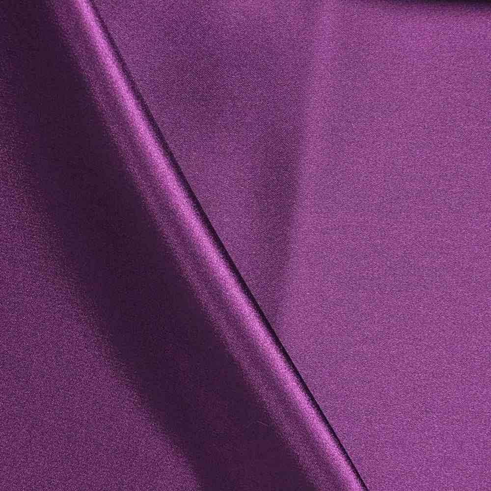 CHA6150 / PLUM 555 / 100% Polyester Charmeuse [KOREA]
