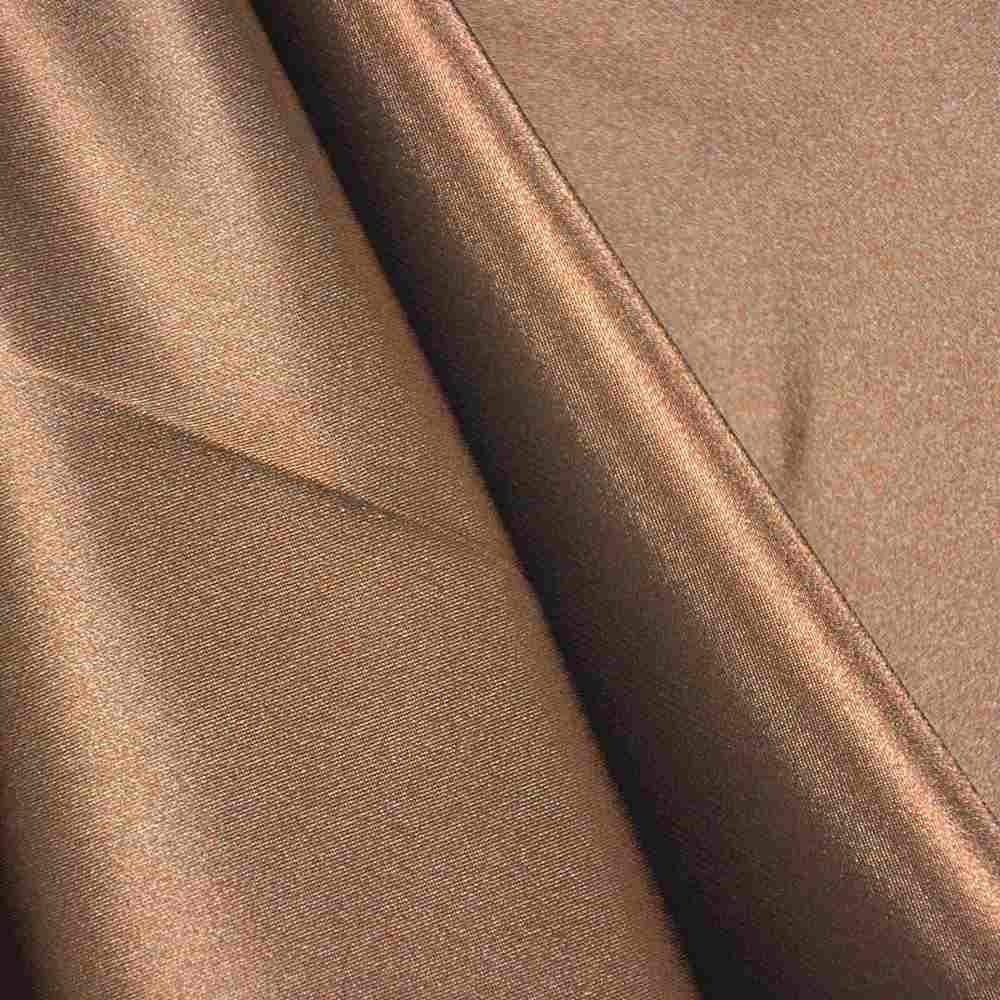CHA6150 / CHOCOLATE 333 / 100% Polyester Charmeuse [KOREA]