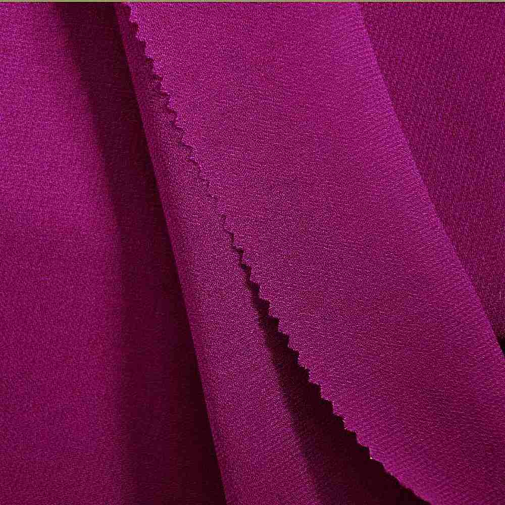 PEBBLE 200 / MAGENTA 592 / 100% Polyester Pebble Georgette