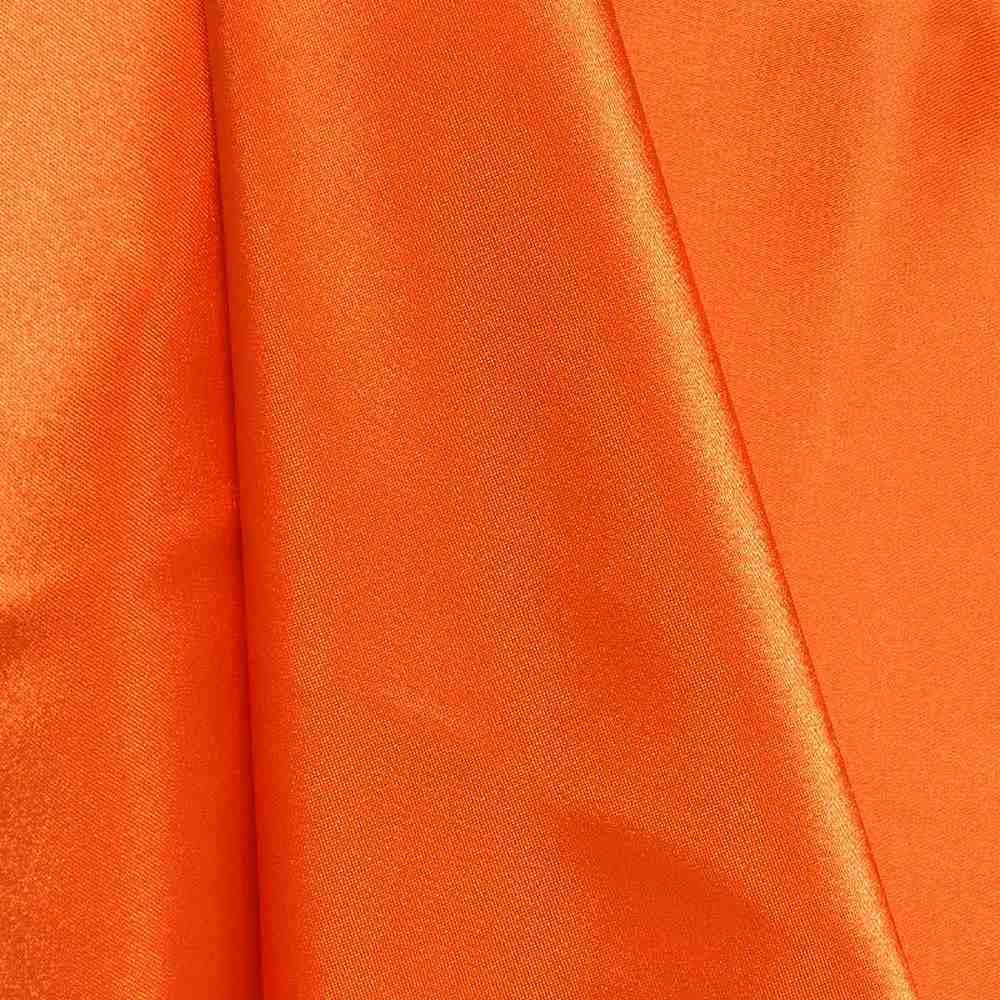 CHA6150 / ORANGE/DARK 621 / 100% Polyester Charmeuse [KOREA]