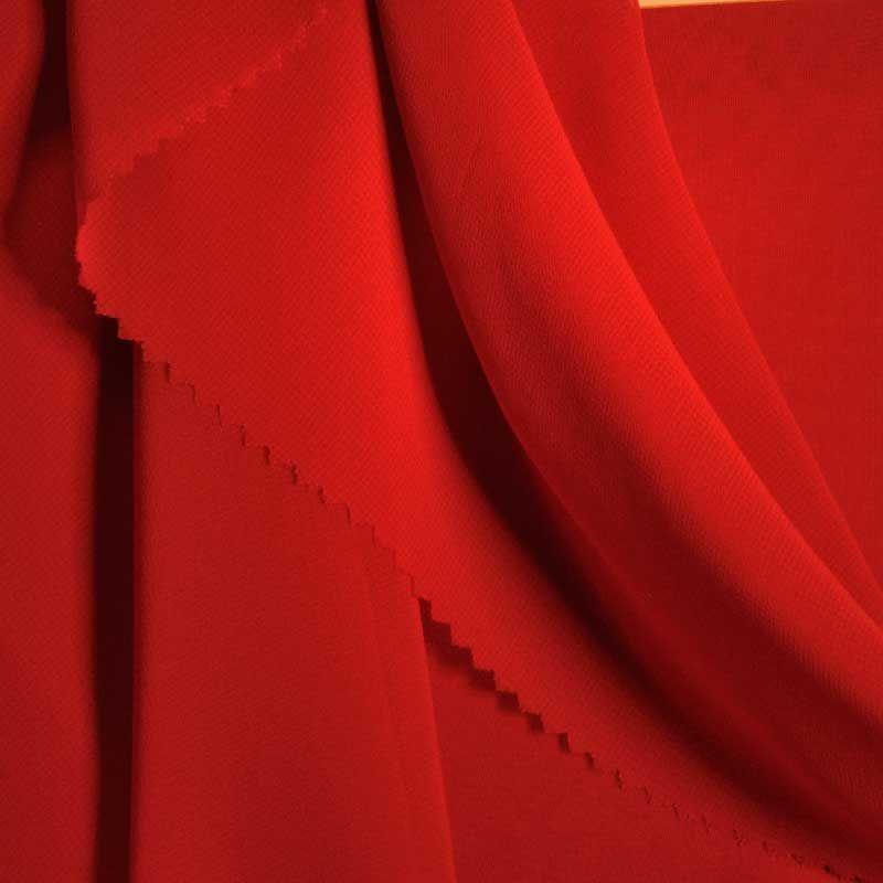 HI-CHS 600 / RED 1392 / 100% Poly Hi-Multi Chiffon -Made in Korea