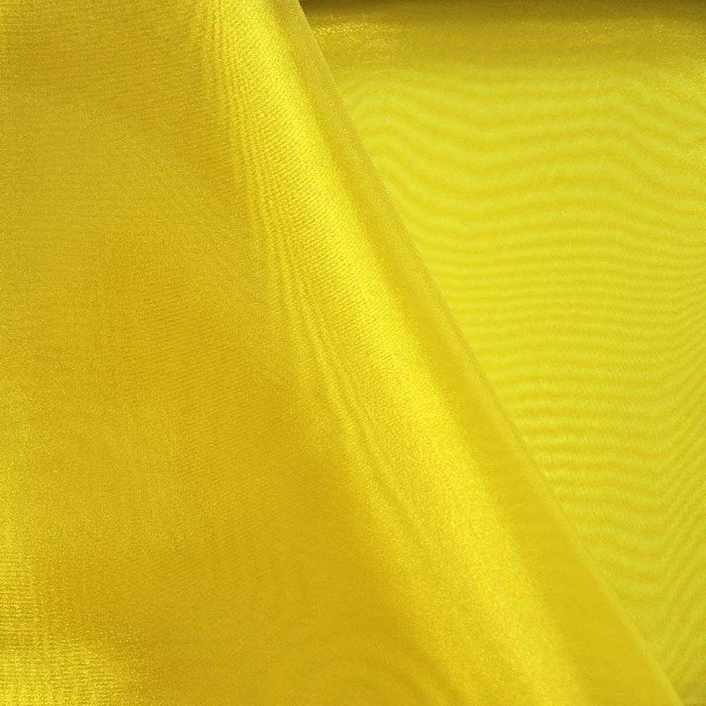 101 CRYSTAL / YELLOW/D 966 / 100% Polyester Crystal Organdy