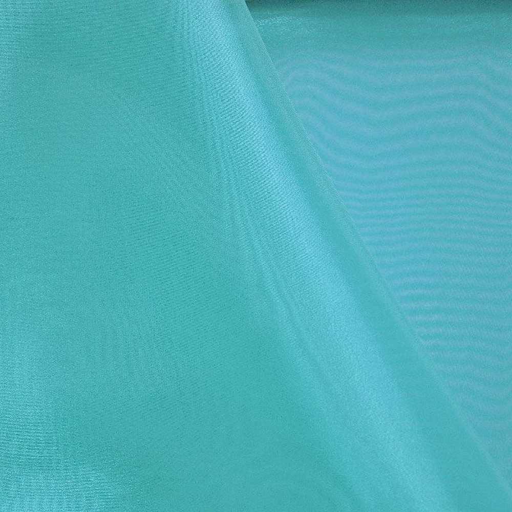 101 CRYSTAL / AQUA 997 / 100% Polyester Crystal Organdy