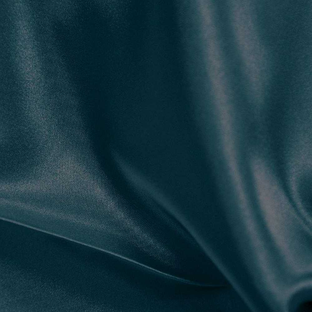 CRM / TEAL 951 / 100% Polyester Charmeuse