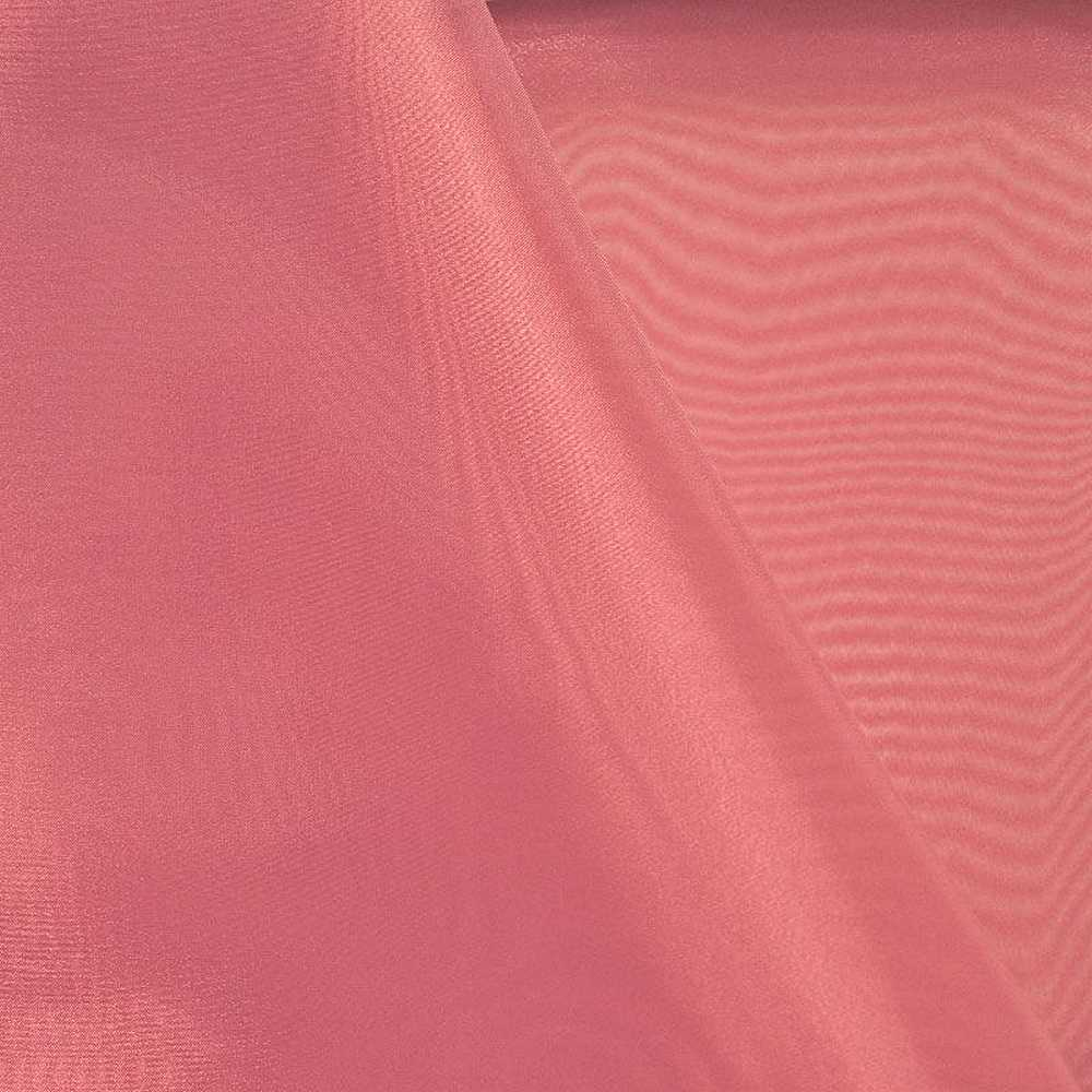 101 CRYSTAL / CORAL/D 551 / 100% Polyester Crystal Organdy