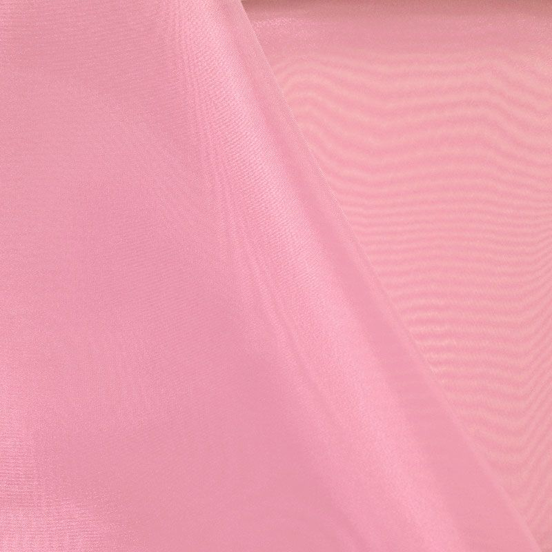 101 CRYSTAL / DUSTY/ROSE 161 / 100% Polyester Crystal Organdy