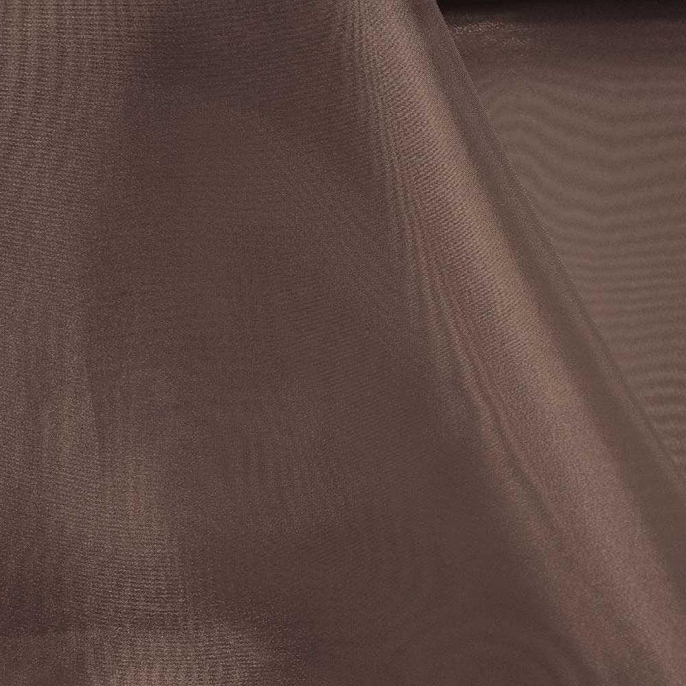 101 CRYSTAL / BROWN 265 / 100% Polyester Crystal Organdy