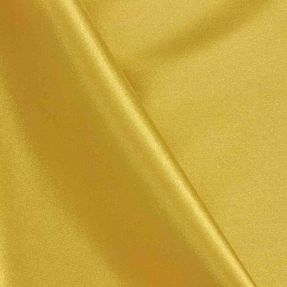CHA6150 / GOLD/M 1189 / 100% Polyester Charmeuse [KOREA]