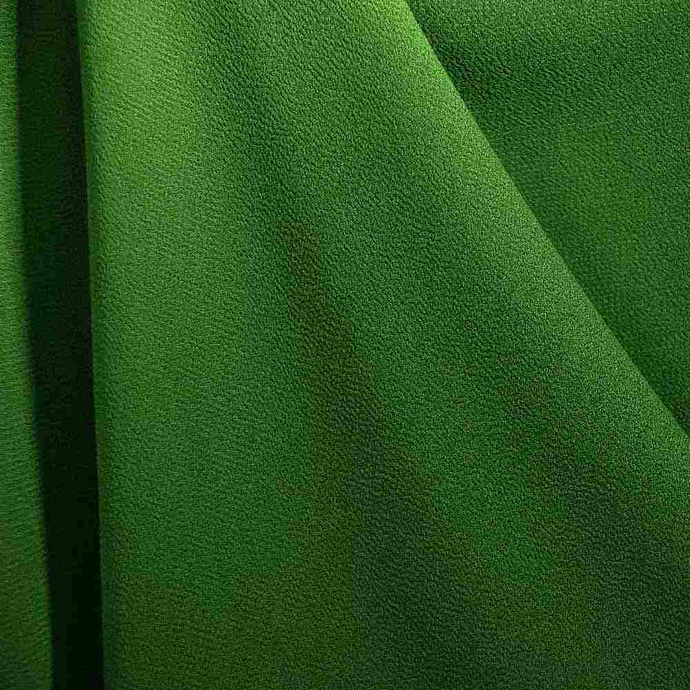 PEBBLE 200 / GREEN 567 / 100% Polyester Pebble Georgette