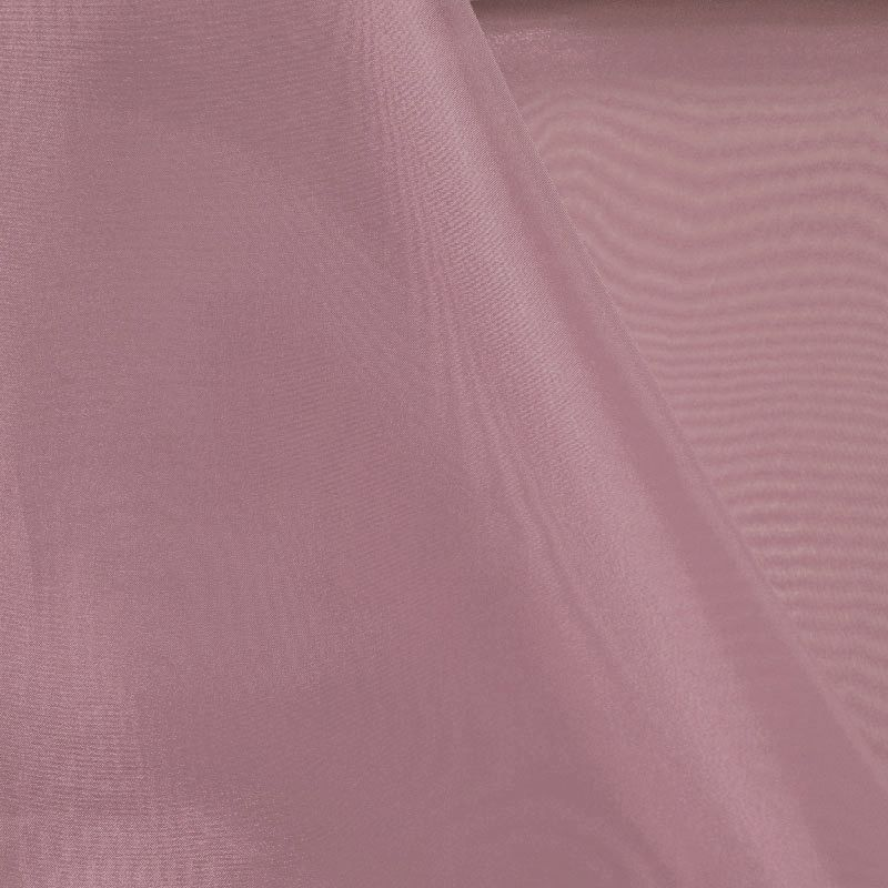 101 CRYSTAL / MAUVE 055 / 100% Polyester Crystal Organdy