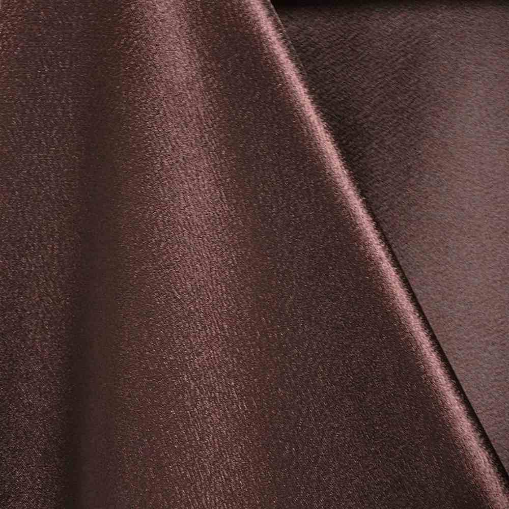 BACK CREPE / CHOCOLATE 333 / 100% Polyester Back Crepe Satin