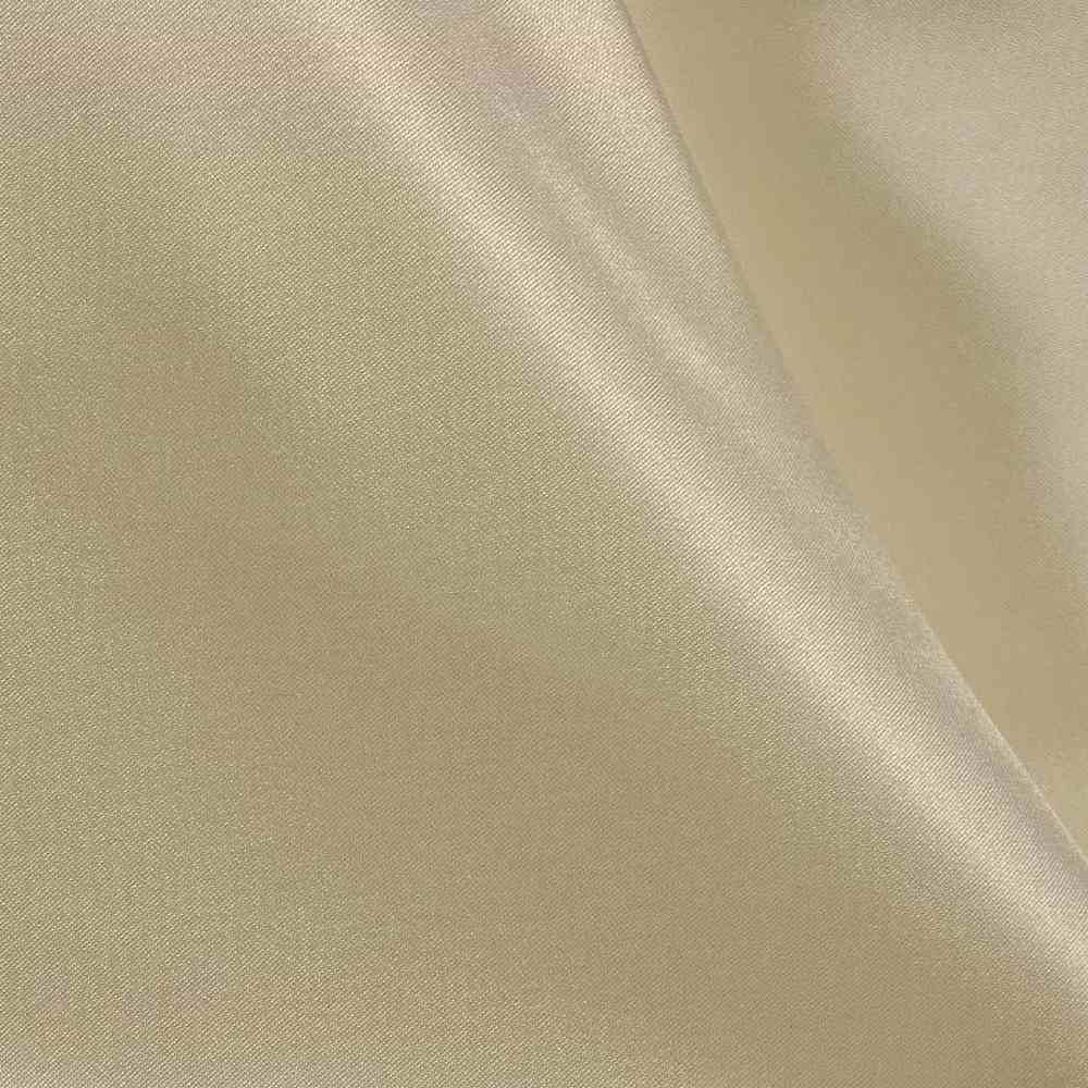 CRM / TAUPE 400 / 100% Polyester Charmeuse