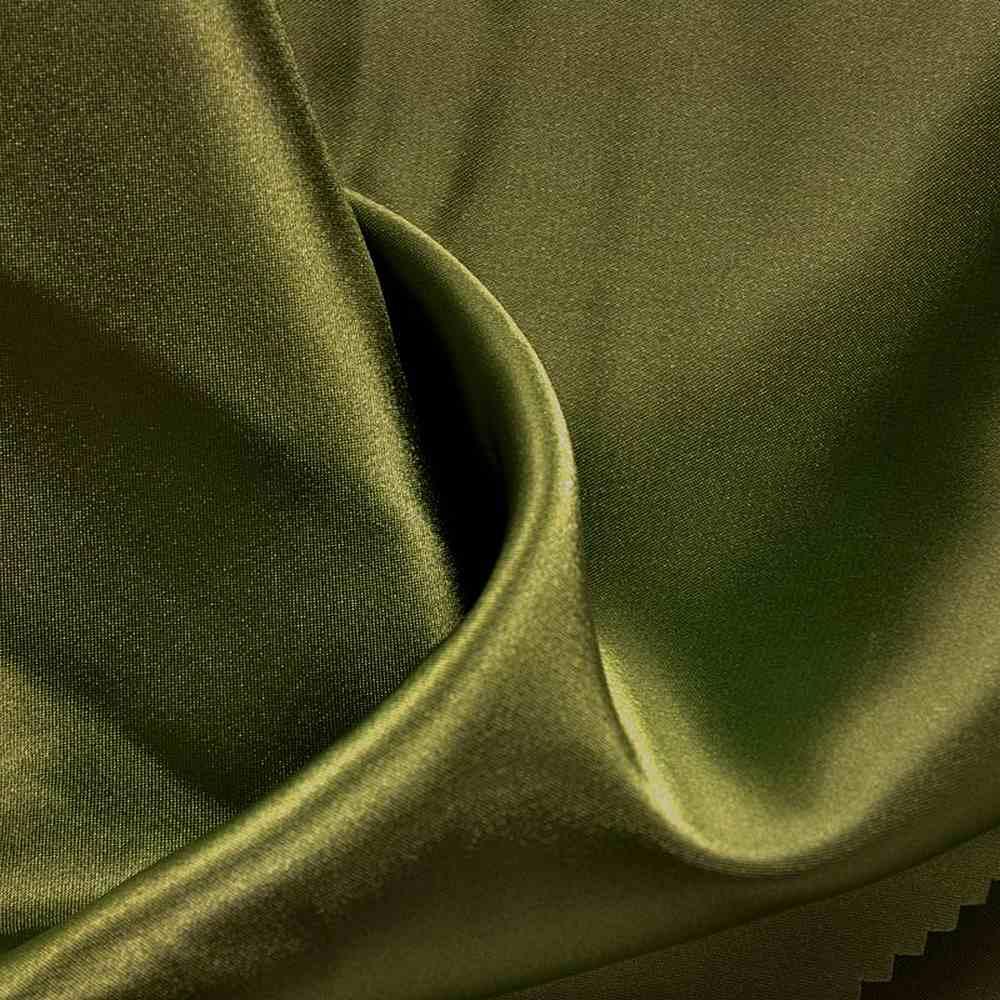 CHA6150 / OLIVE/D 553 / 100% Polyester Charmeuse [KOREA]