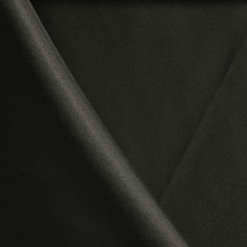 58STR/SATIN / BLACK 7300 / 96% Poly 4%Span Charmuse