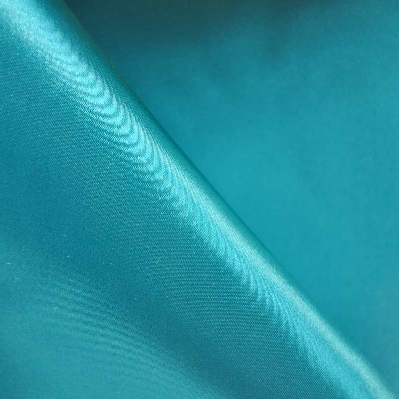 SATIN/POLY 3145 / TURQUOISE 141 / 100% Polyester Bridal Satin