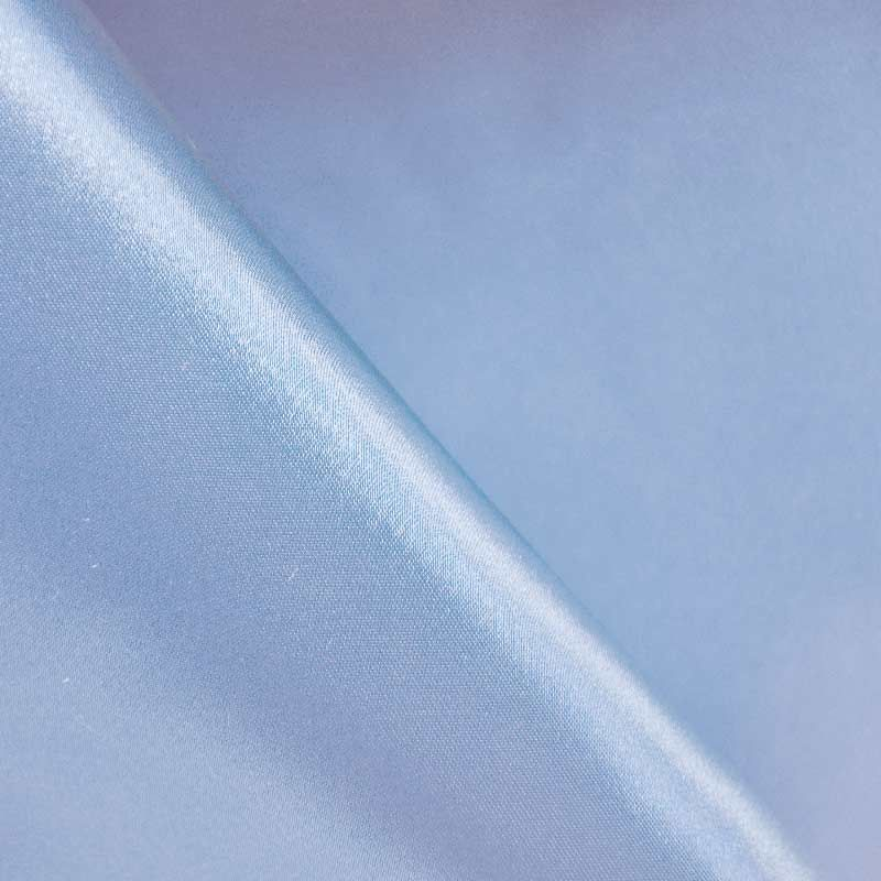 SATIN/POLY 3145 / BLUE 120 / 100% Polyester Bridal Satin