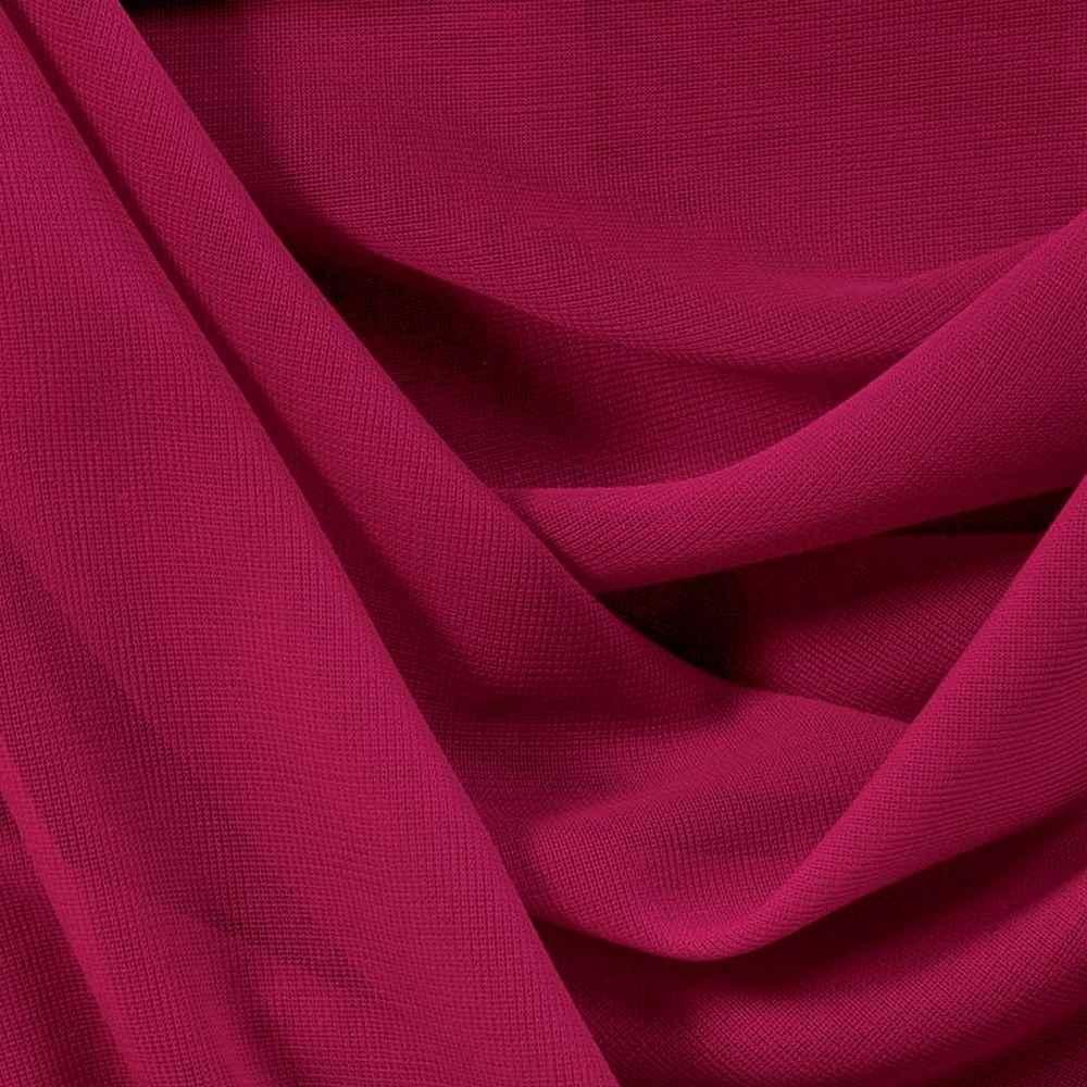 CMJ3000 / FUCHSIA 220 / 100% Polyester Chiffon Matt Jersey