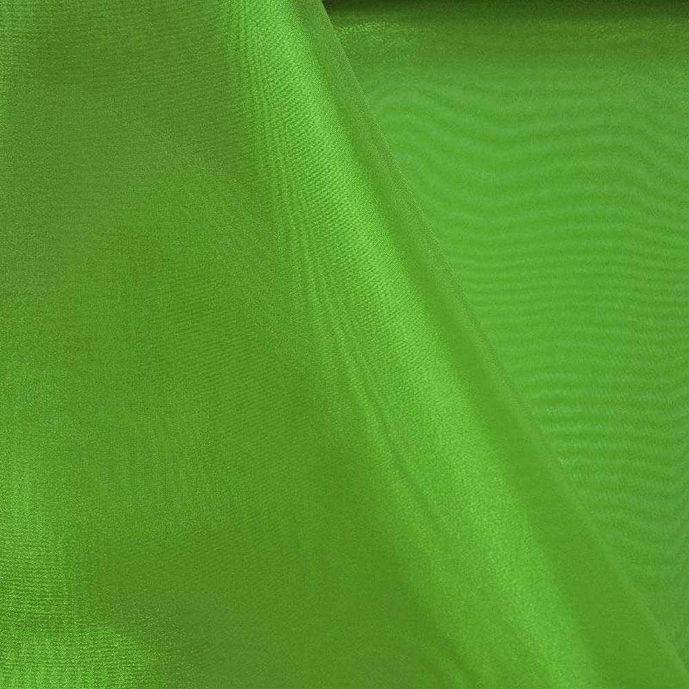 101 CRYSTAL / GREEN 1875 / 100% Polyester Crystal Organdy