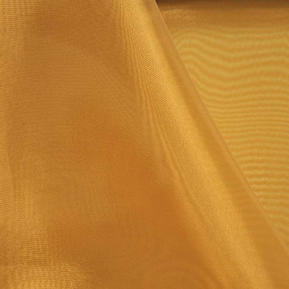 101 CRYSTAL / GOLD/D 902 / 100% Polyester Crystal Organdy