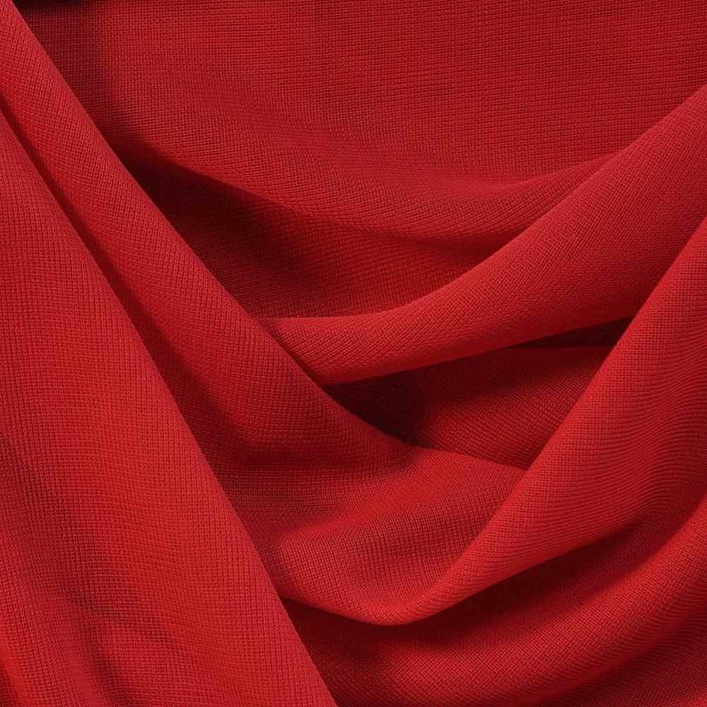 CMJ3000 / RED 191 / 100% Polyester Chiffon Matt Jersey