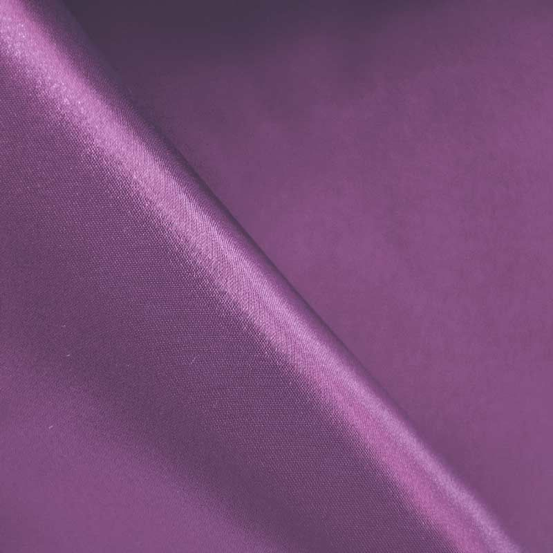 SATIN/POLY 3145 / RAISIN 356 / 100% Polyester Bridal Satin