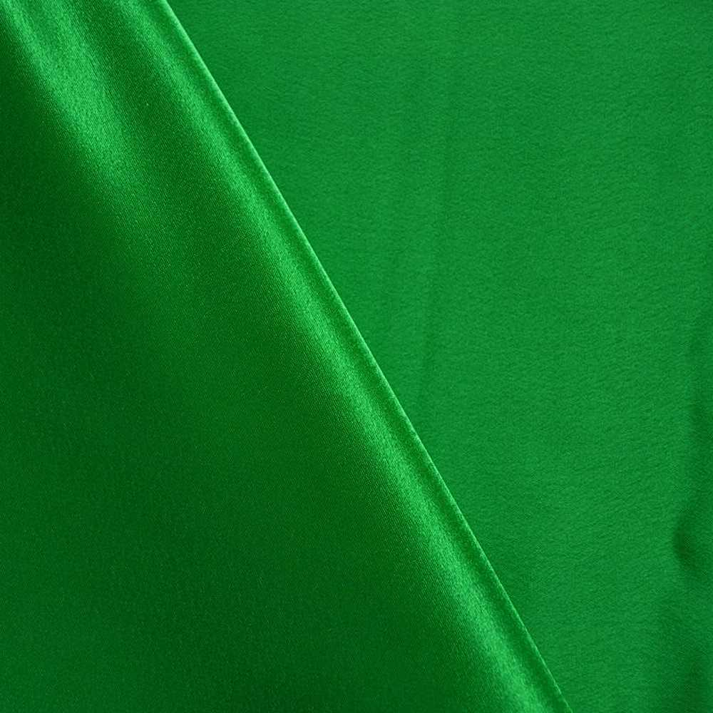 BACK CREPE / KELLY GREEN 116 / 100% Polyester Back Crepe Satin