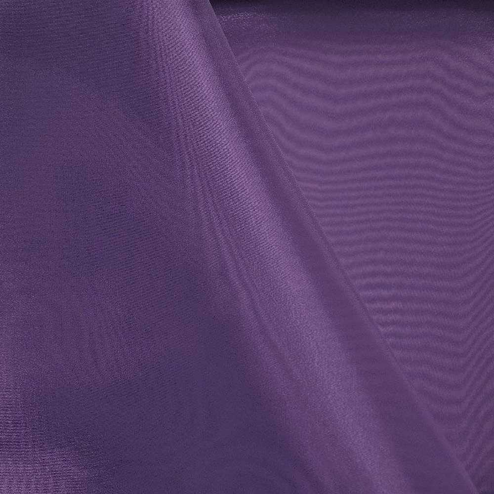 101 CRYSTAL / PLUM 720 / 100% Polyester Crystal Organdy