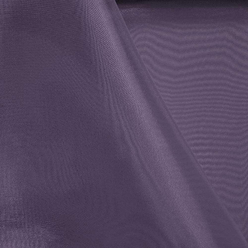 101 CRYSTAL / EGGPLANT 387 / 100% Polyester Crystal Organdy